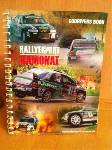 Codriverbook by Rallyesport-Ramonat